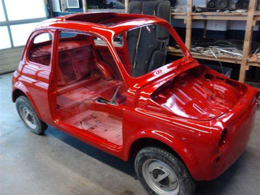 Restauratie Fiat 500 oldtimer