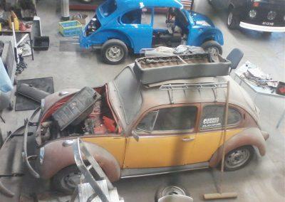 Restauratie VW Kever oldtimer 1982 (9)
